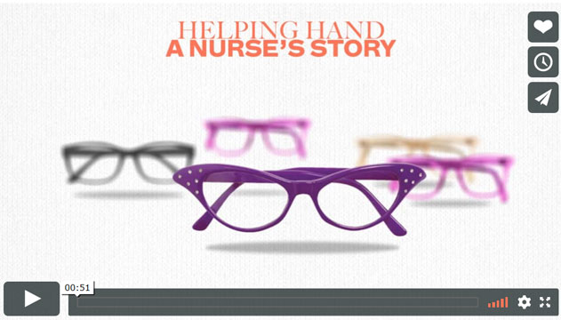 Helping Hand – A nurse's story