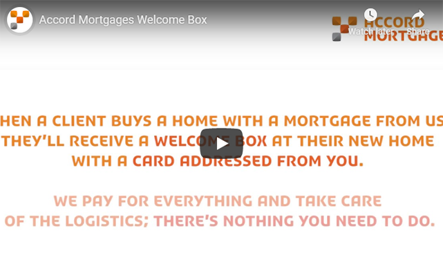 Accord Mortgages Welcome Box